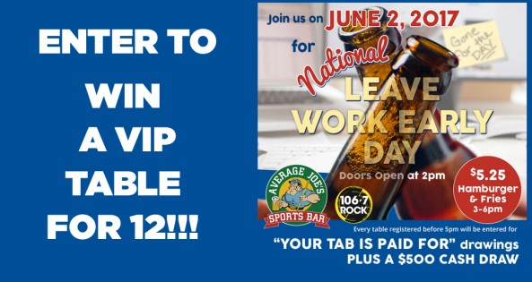 Leave Work Early Contest Banner copy